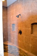wrap around shower