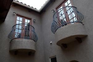 Outside balconies