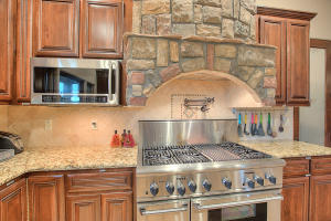 Stonework in Kitchen