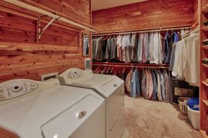 master closet/ 2nd laundry