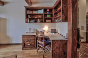 Study area near kitchen