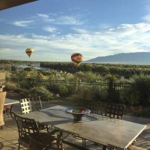 2 Morning Balloons on Rio Grande