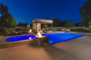 Firepits and changing pool lights
