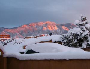 Sandia Winter Sunset