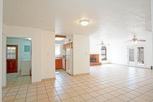 Kitchen, Living Room, Laundry Room