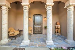 Tuscan style columns