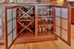 Kitchen/Wine Storage