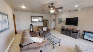 Entry living room