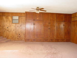 West wall of the Family Room