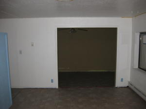 living room to den