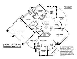 Desert Zinnia - 13400 - Lower Floor Plan