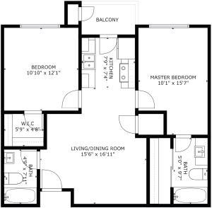 Floorplan-4322FourthNW-Unit22