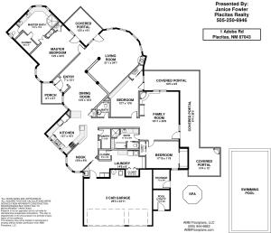 1 Adobe Rd floorplan