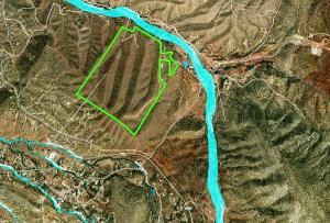Placitas Map sat boundary w flood