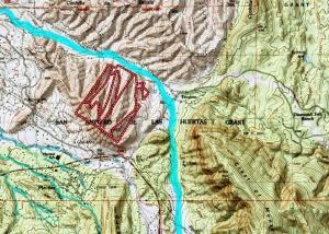 Placitas Map Topo2 w Flood