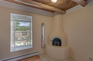 Master Bedroom Kiva Fireplace