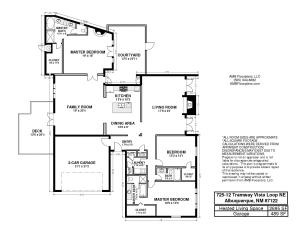 725-12 Tramway Vista Loop Floor Plan MLS