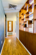 Hall & Built-In Book Case