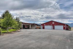 Large Garage and Carport