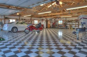 Large Garage Interior