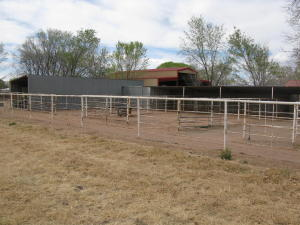 Four Covered Stalls
