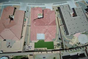 Back yard aerial