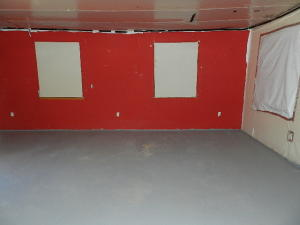 Lower level room