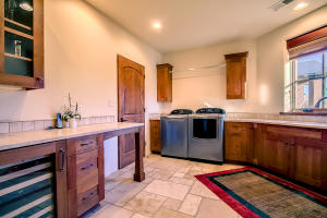 Laundry Room with Wine Cooler
