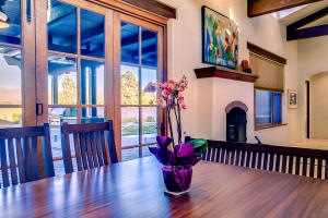 Dining Area with Mountain View