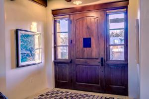 Handcrafted Front Door