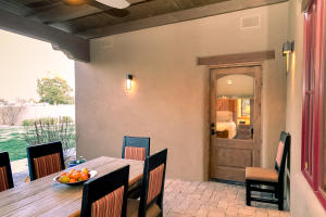 Covered Dining on Patio