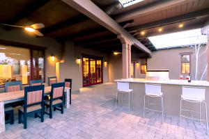 Patio with Bar Area