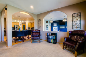 6 Family room and kitchen