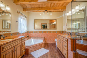 Master soaking tub