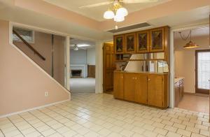 Kitchen Nook - Stairway