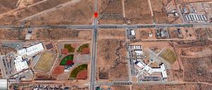 AAA aerial of four lots