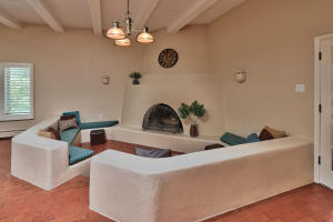 Kiva in family room