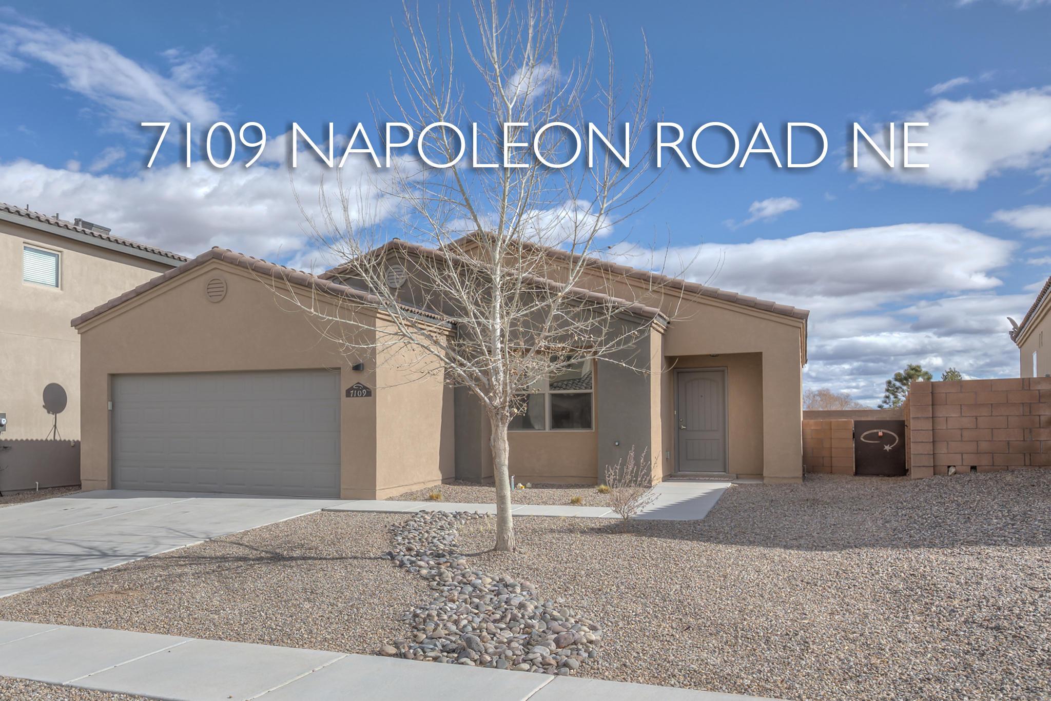 7109 NE Napoleon Road, Rio Rancho in Sandoval County, NM 87144 Home for Sale