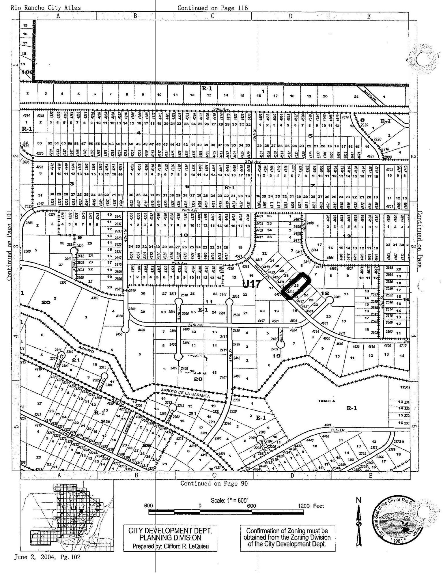 One of Rio Rancho Homes for Sale at 4439 Baranca(L26 B12 U17) Road NE