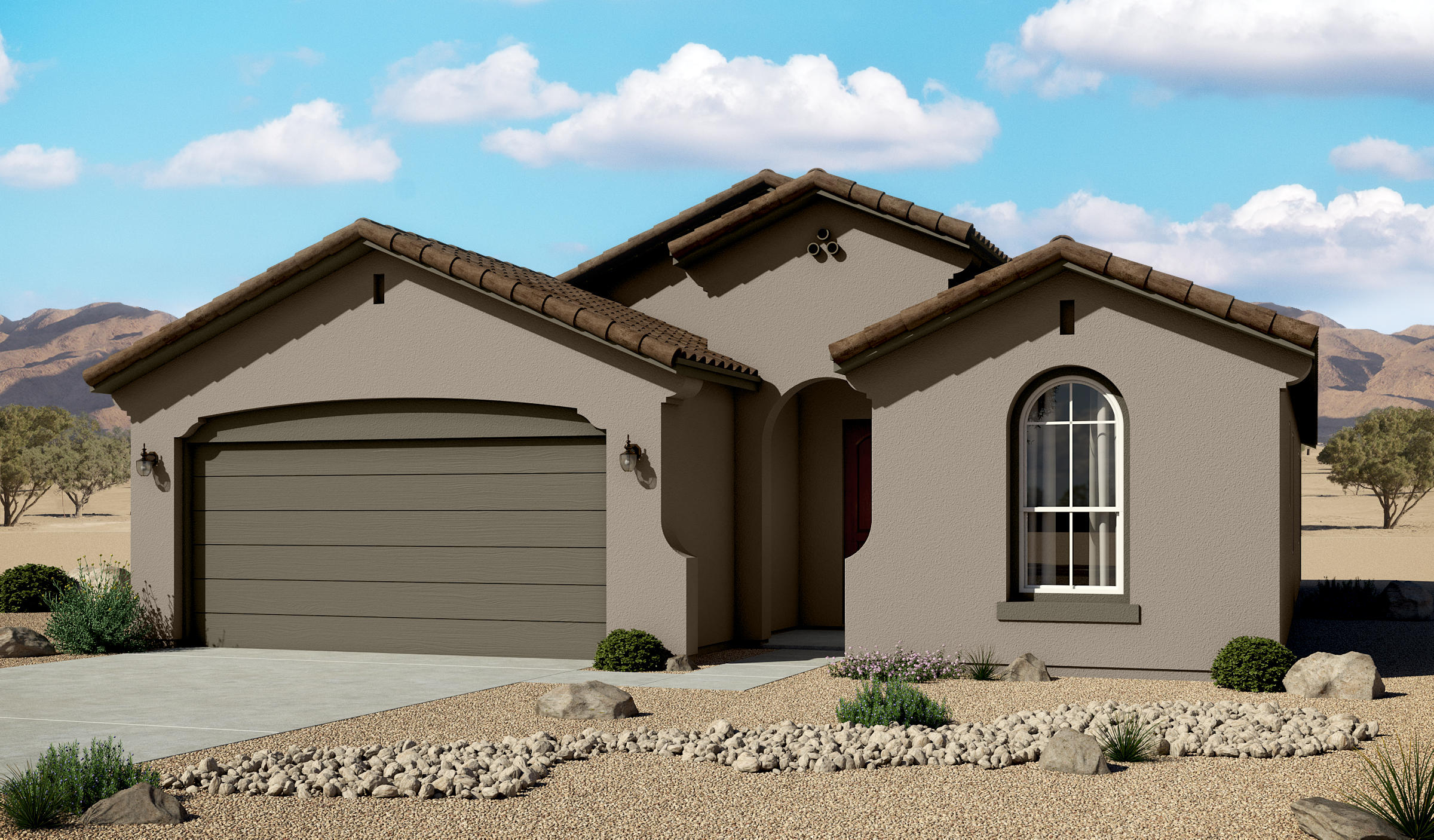 One of Rio Rancho 4 Bedroom Homes for Sale at 4066 NE Mountain Trail