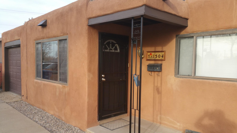 One of Albuquerque Northeast Heights 3 Bedroom Homes for Sale at 1504 NE Glorieta Street