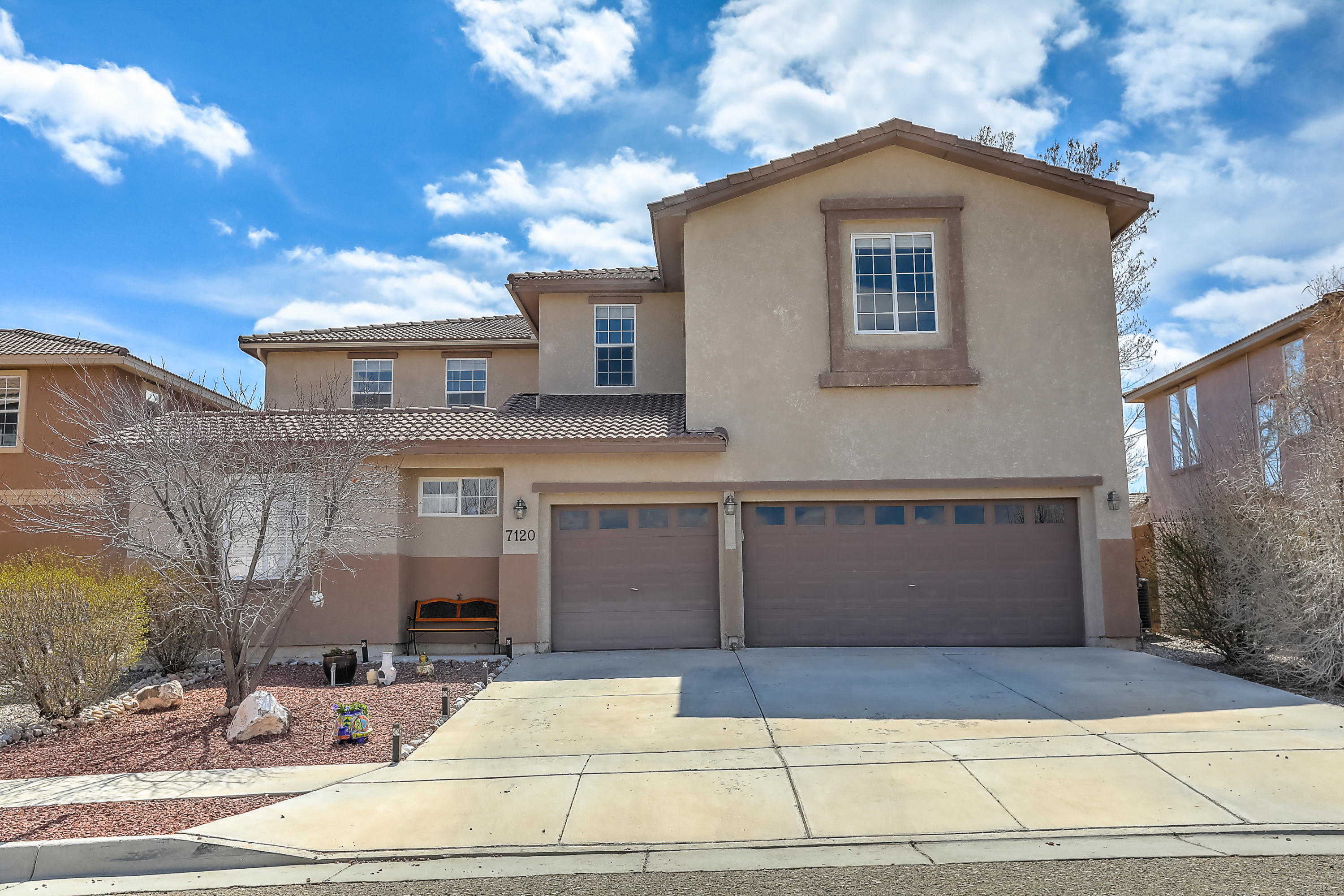 One of Northwest Albuquerque and Northwest Heights 5 Bedroom Homes for Sale at 7120 NW Alamillo Road