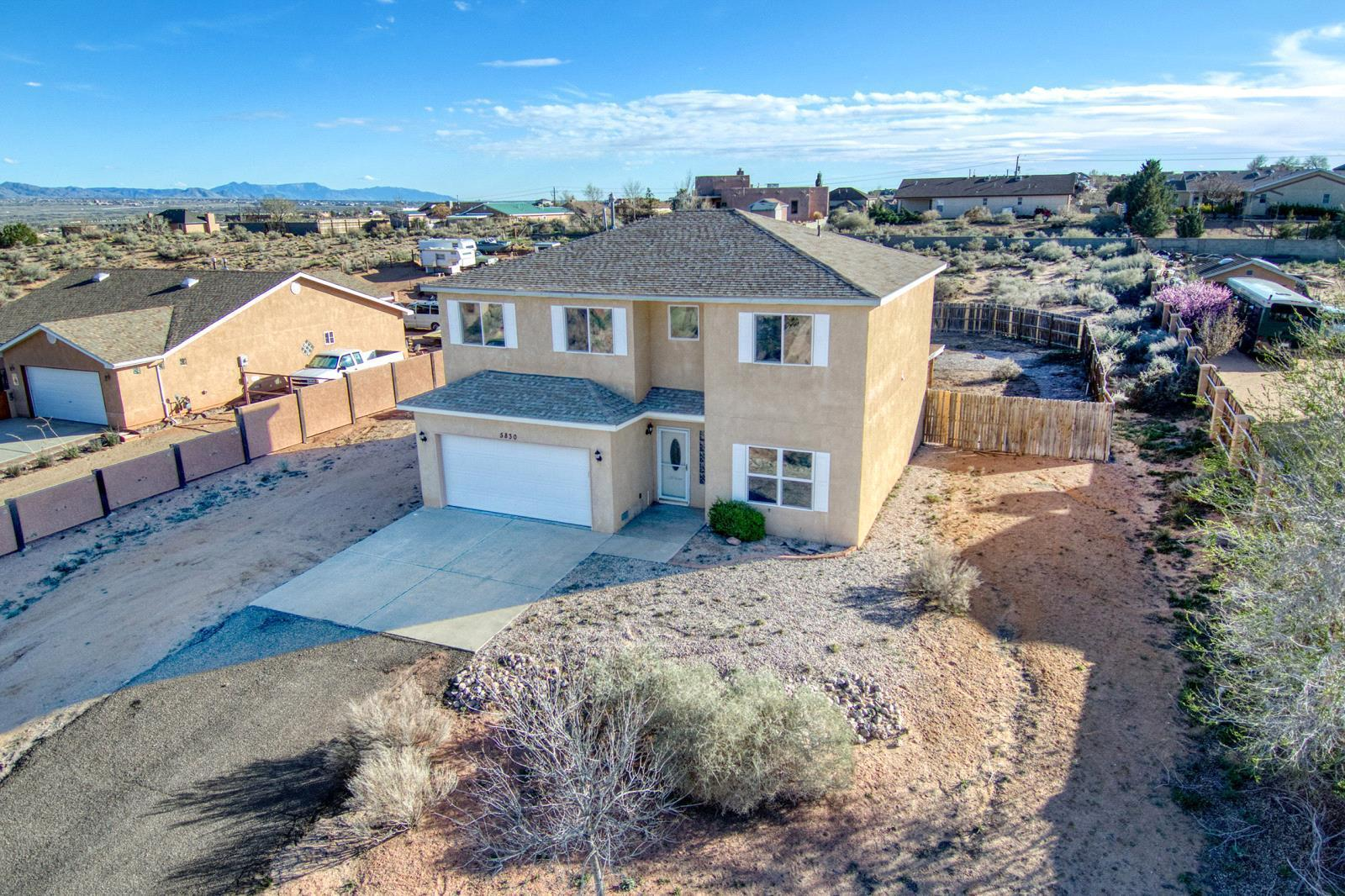 5830 NE Miller Road, Rio Rancho in Sandoval County, NM 87144 Home for Sale