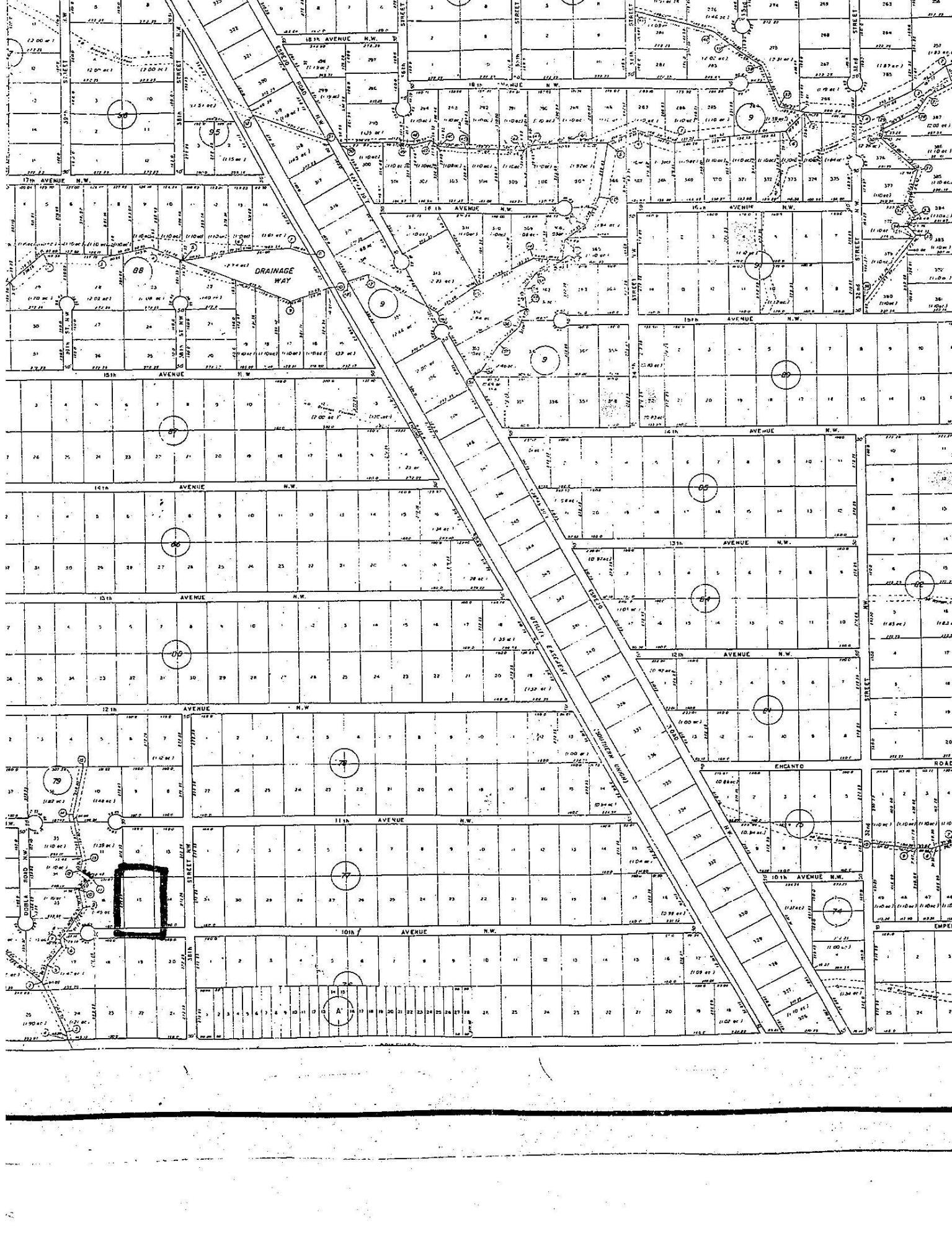 L15 B79 U6 (10th Ave NW), Rio Rancho, New Mexico