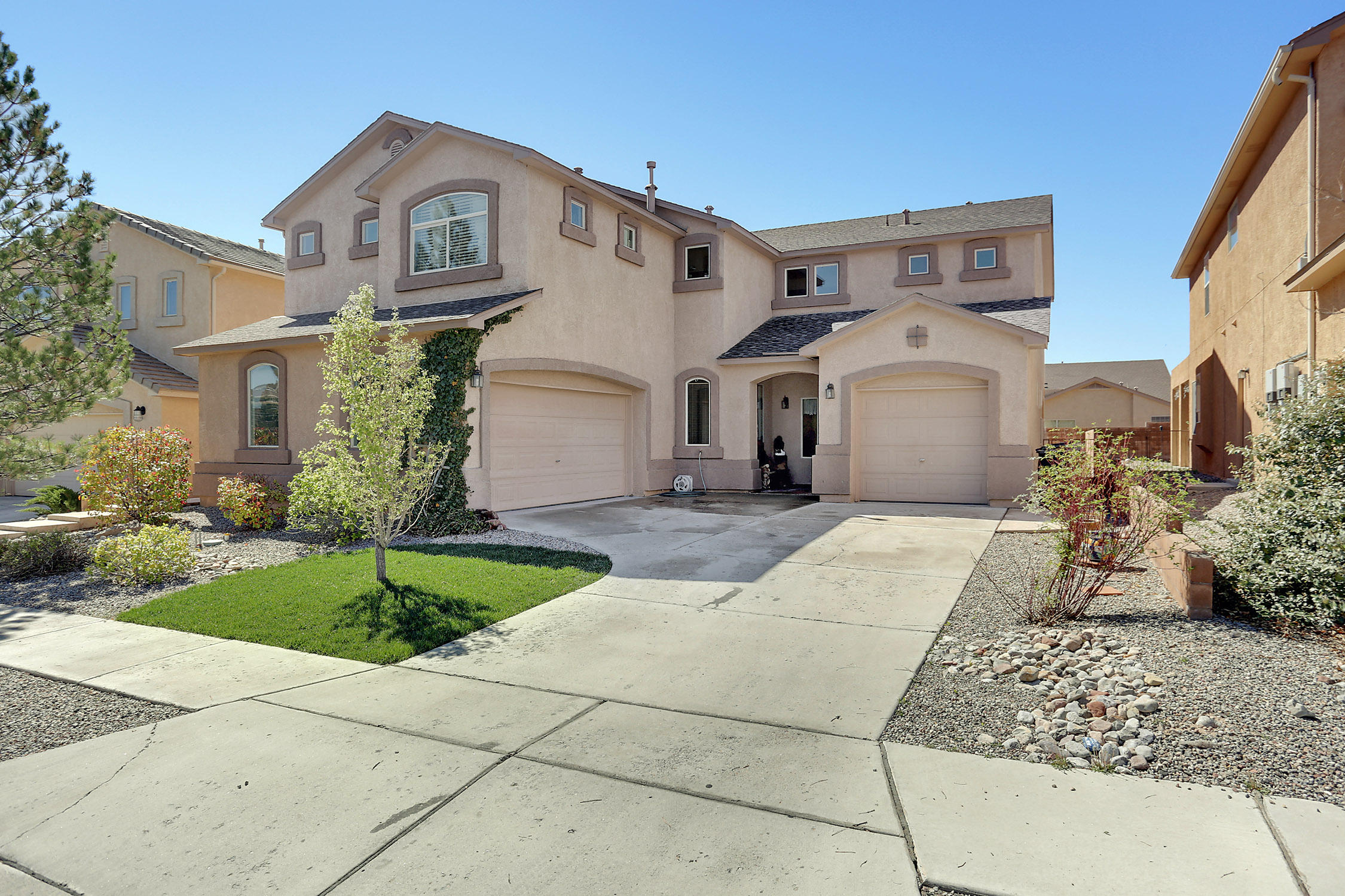 One of Northwest Albuquerque and Northwest Heights 3 Bedroom Homes for Sale at 8104 NW Pony Hills Place