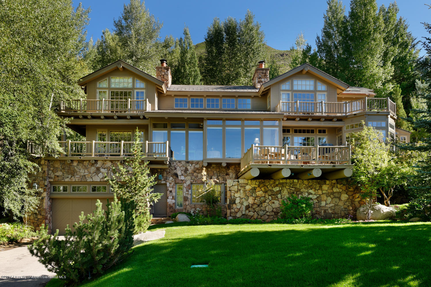 825 Hunter Creek Road - Red Mountain, Colorado