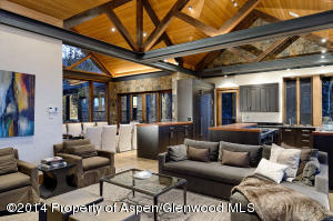 Luxury Snowmass Home-Interior Great Ro