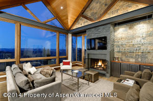 Snowmass Views-Fireplace in Great Room