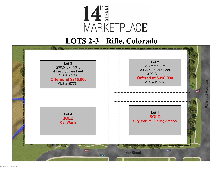 1415 Railroad Avenue, Lot 3 - Rifle, Colorado