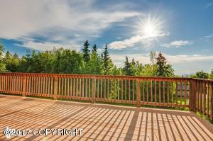 Large deck for enjoying the view!